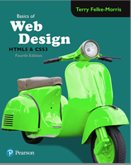 4th Edition of Basics of Web Design: HTML5 & CSS